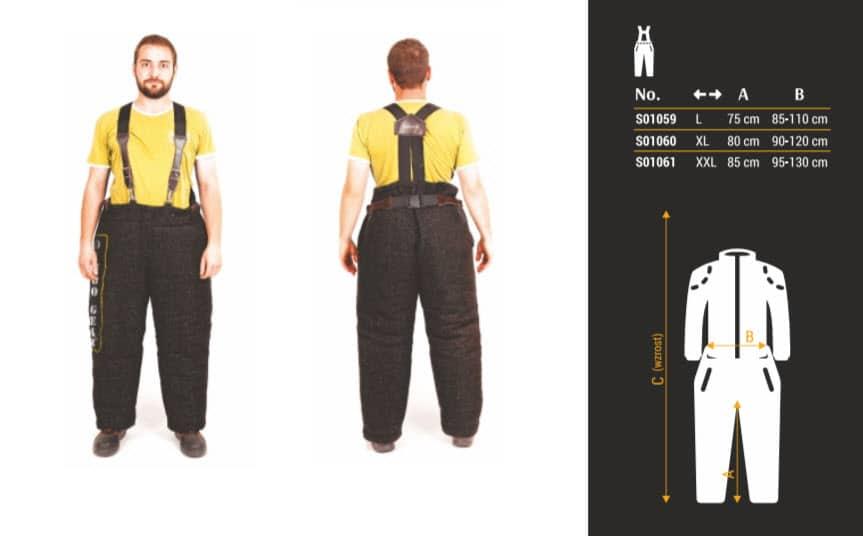Zaštitne hlače za markiranta - EXTREME 8