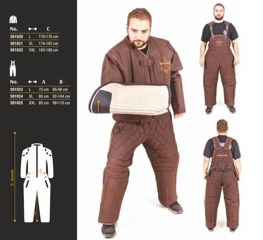 Zaštitna jakna za markiranta - EKO KOŽA - LIGHT 10