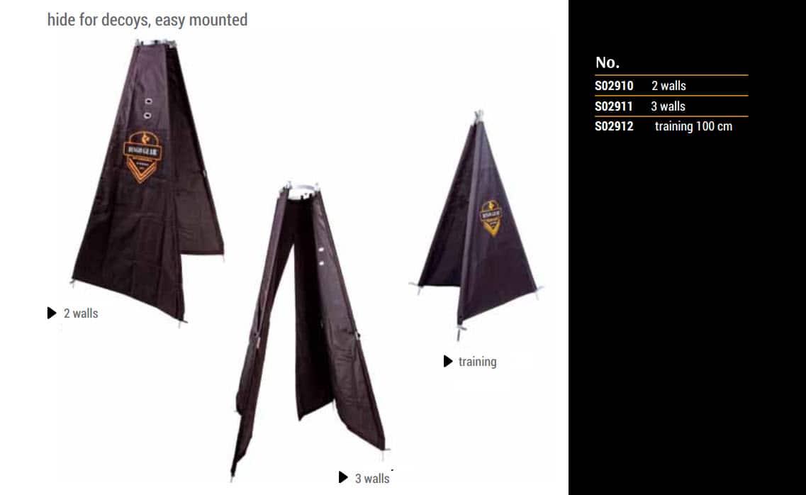Šotorska zastirka - revir s prehodom 10