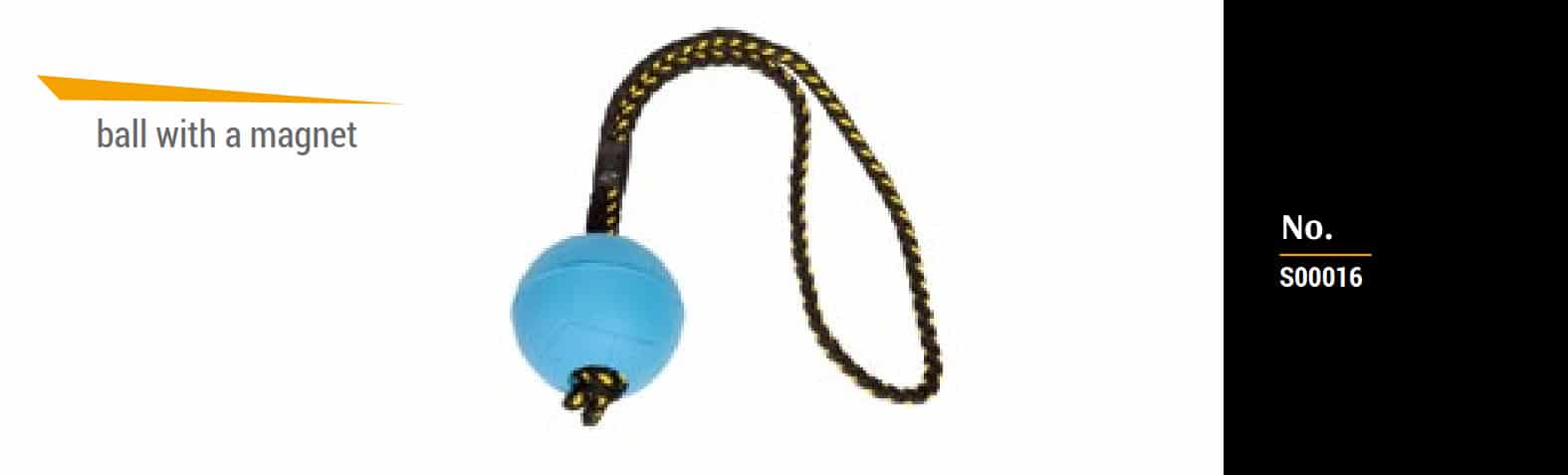 Gumijasta žoga z magnetom 6
