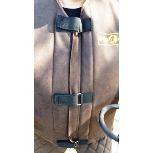 Zaščitna jakna za markerje - ECO USNJE - LIGHT 4