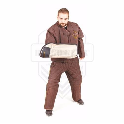 Zaščitna jakna za markerje - ECO USNJE - LIGHT 3