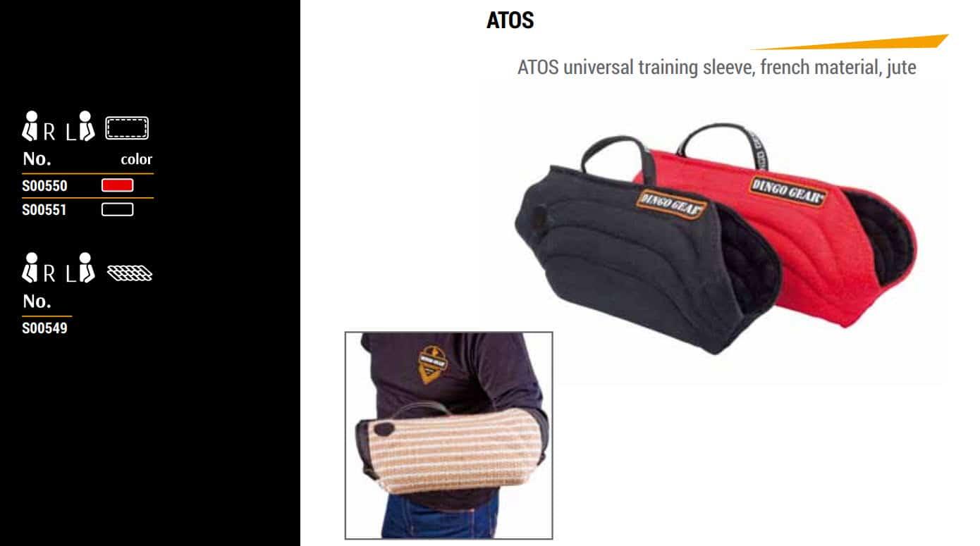 Zaščitni rokav ATOS 14