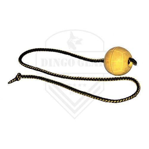 gumijasta žoga z vrvico