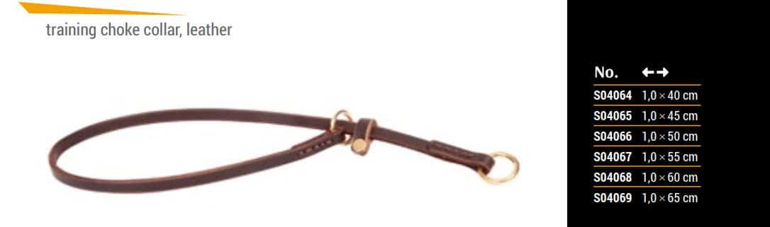 Ogrlica davilica iz kože 6