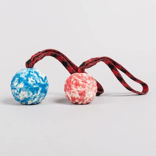 Gumijasta žoga z dvojnim magnetom in ročajem 18